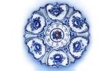 Часы Цветок